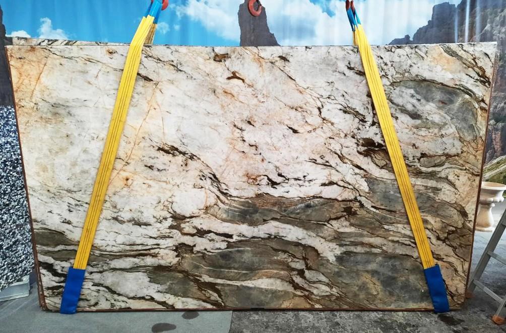 FUSION MISTIC Supply Veneto (Italy) polished slabs U0113 , Slab #26 natural quartzite