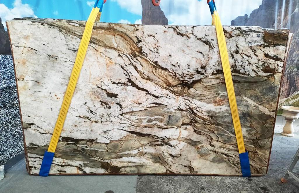 FUSION MISTIC Supply Veneto (Italy) polished slabs U0113 , Slab #40 natural quartzite
