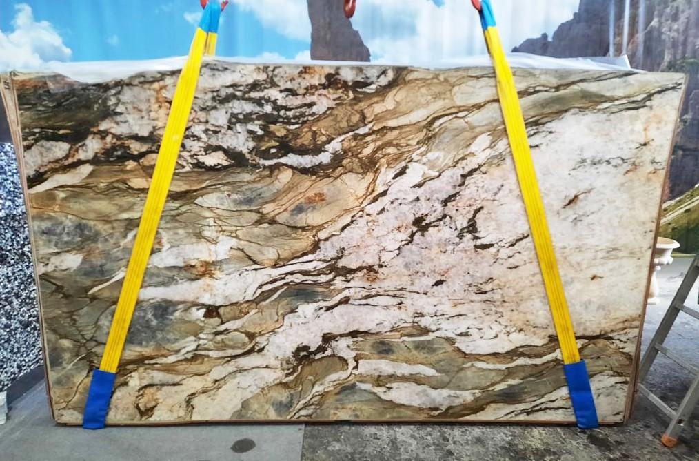 FUSION MISTIC Supply Veneto (Italy) polished slabs U0113 , Slab #47 natural quartzite