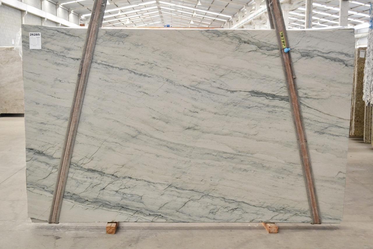 INFINITY GREY polished slabs 2390 , Bnd #26285 natural quartzite