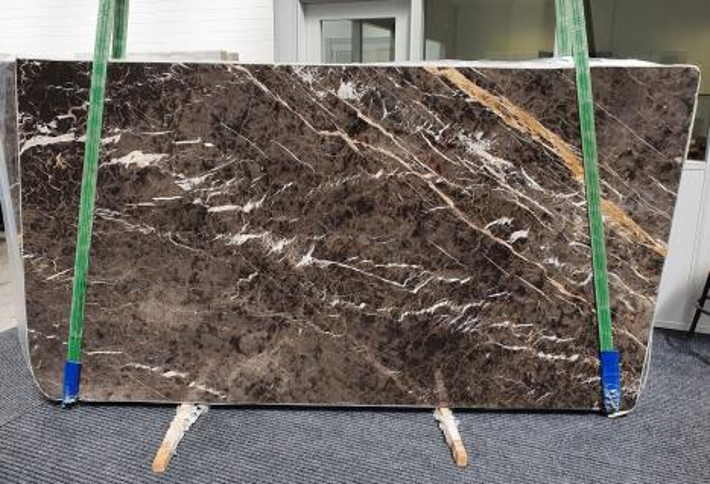 MARRON IRIS Supply Veneto (Italy) polished slabs 1404 , Slab #26 natural marble