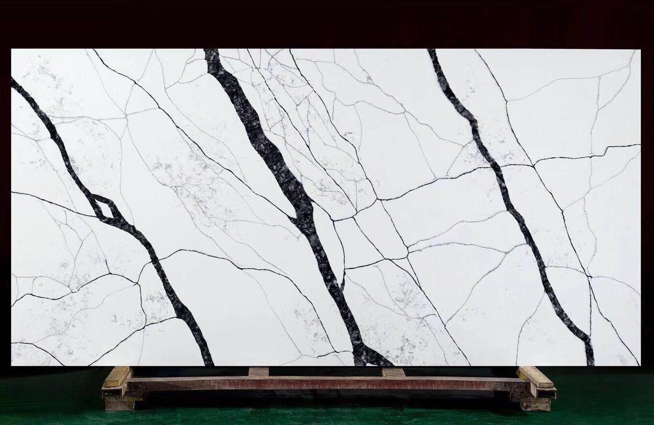 MATERA Supply Hai Phong (Vietnam) polished slabs V7005 , SL2CM artificial aglo quartz