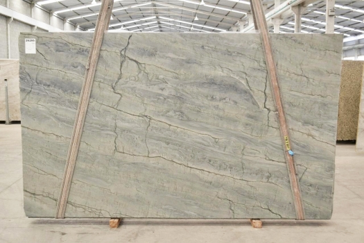 OCEAN BLUE Supply Veneto (Italy) polished slabs 2382 , Bnd #26295 natural quartzite