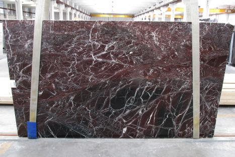 ROSSO LEVANTO Supply Veneto (Italy) polished slabs 1712M , Slab #20 natural marble