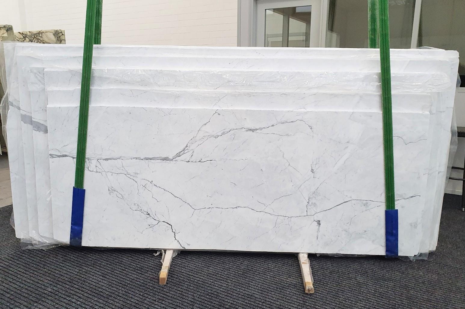 STATUARIETTO polished slabs 1290 , Slab #02 natural marble