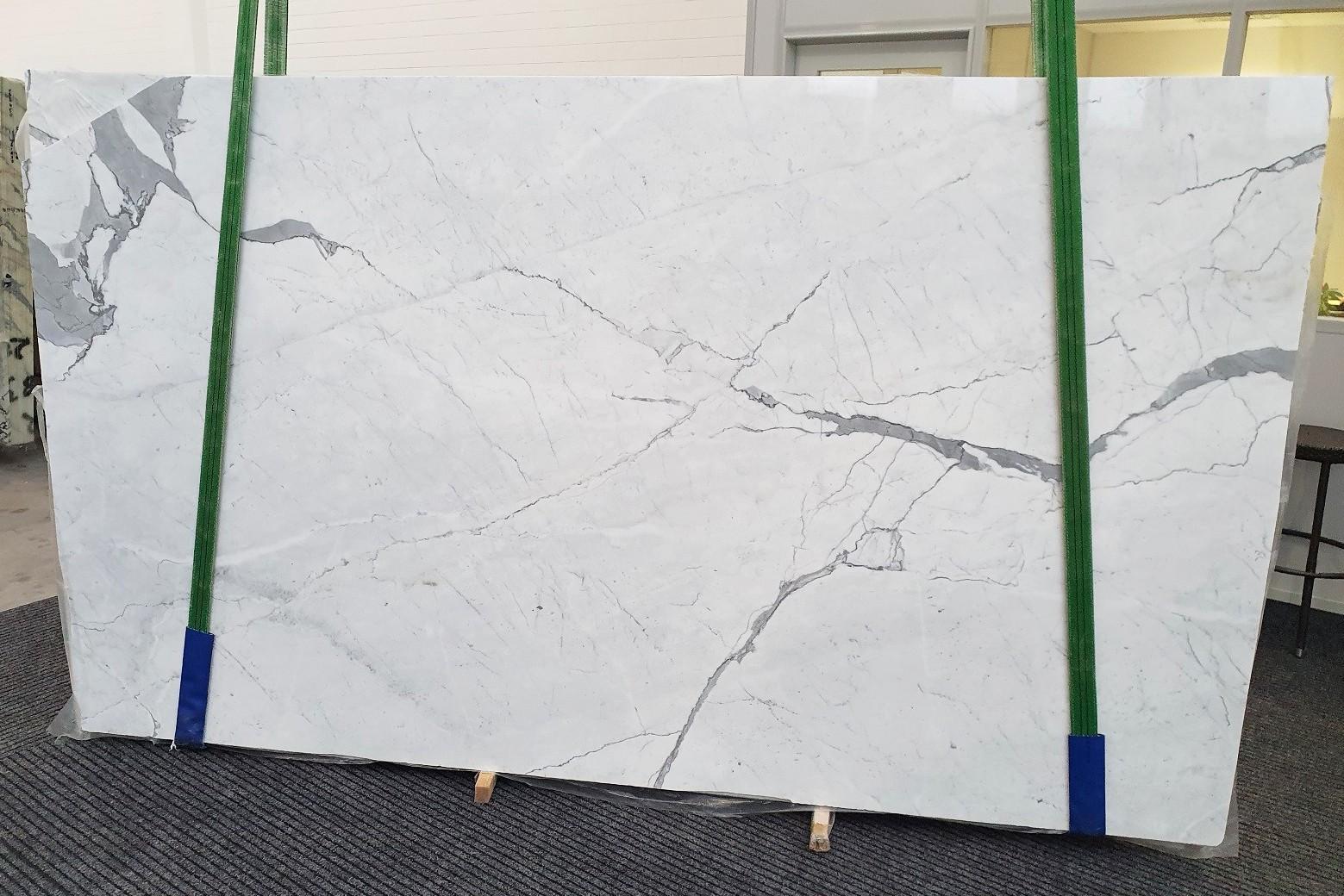 STATUARIETTO polished slabs 1290 , Slab #37 natural marble