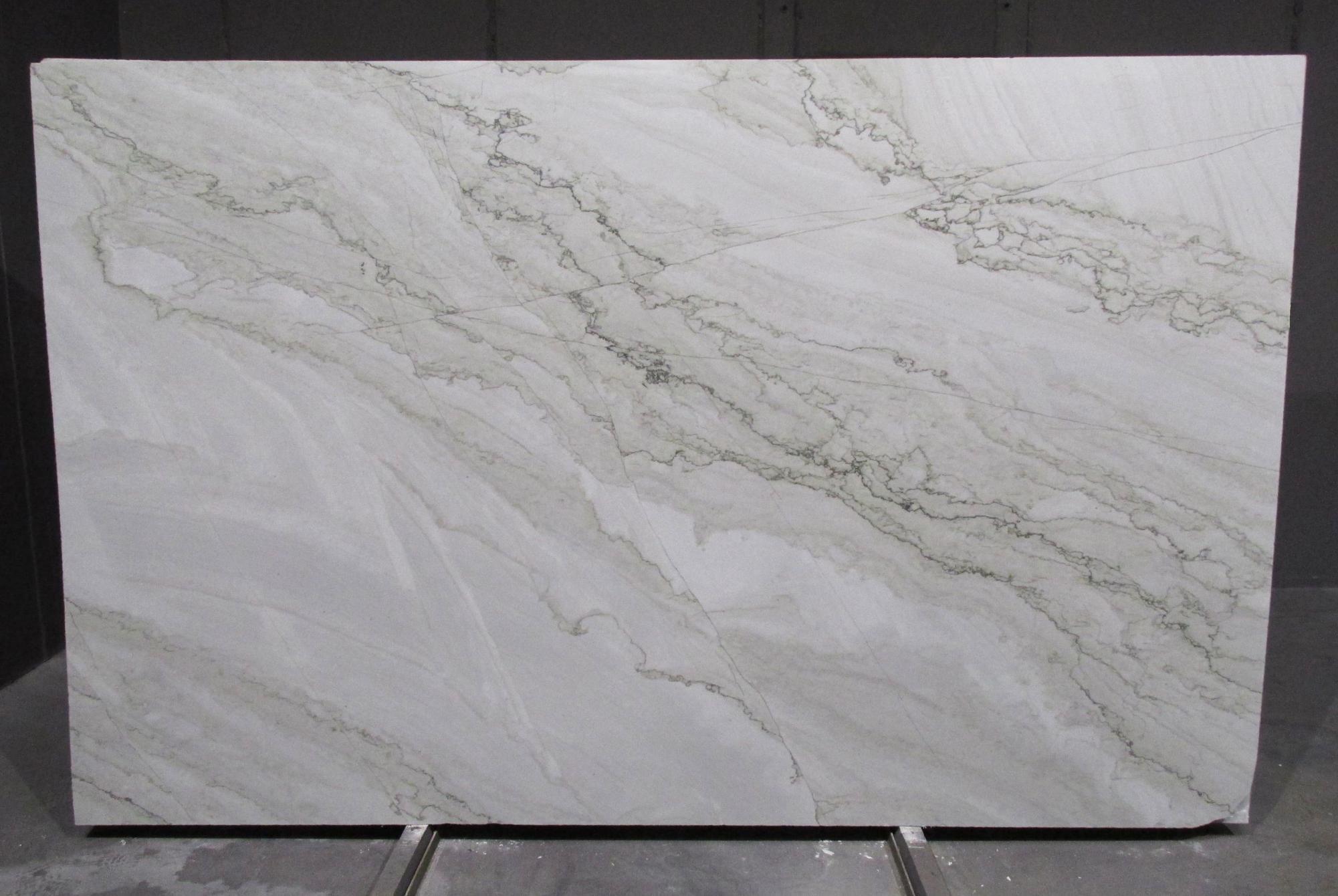 SUPREME PEARL Supply Veneto (Italy) polished slabs 1492G , Bnds 2cm natural quartzite