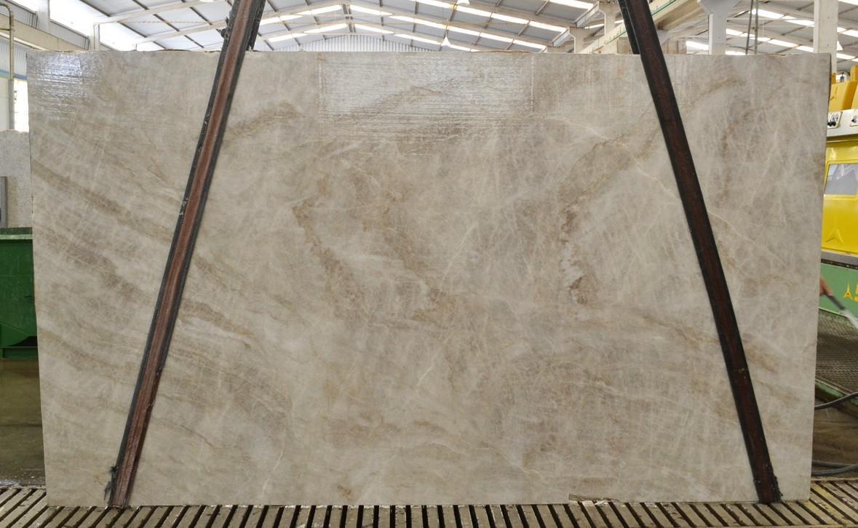 TAJ MAHAL Supply Espirito Santo (Brazil) honed slabs BQ02441 , Slab #44 natural quartzite