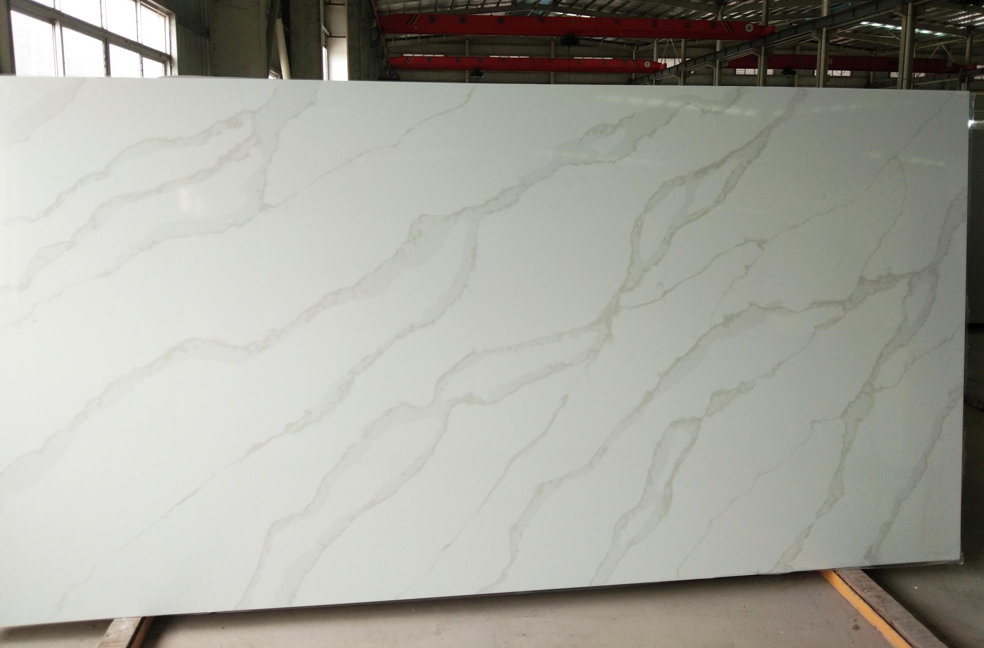 TIRRENO Supply Hai Phong (Vietnam) polished slabs AB 9331 , SL2CM artificial aglo quartz