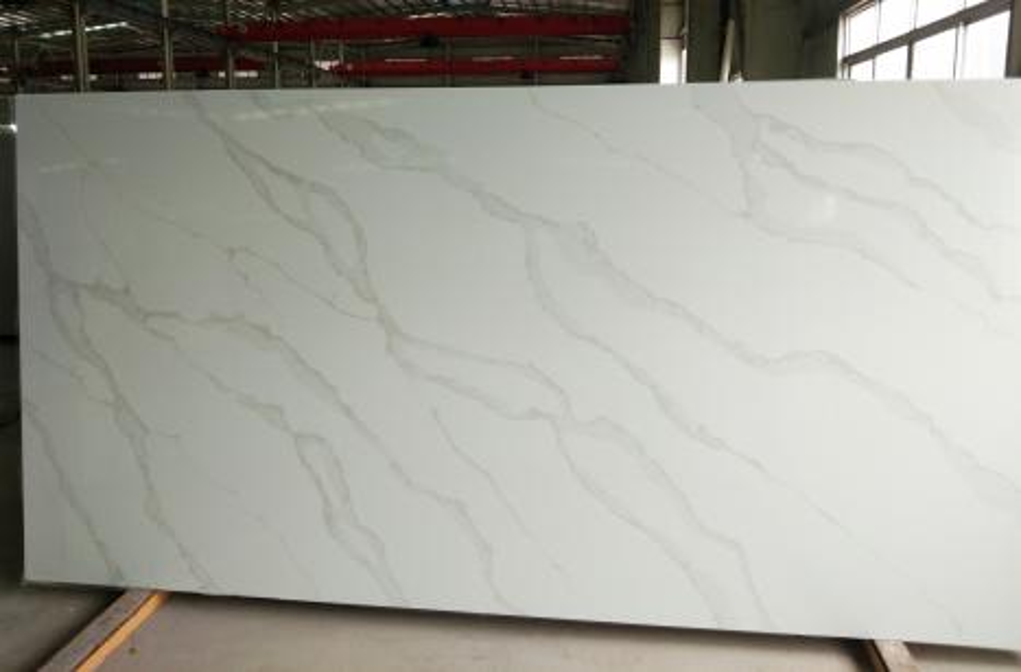 TIRRENO Supply Hai Phong (Vietnam) polished slabs AB 9331 , SL3CM artificial aglo quartz