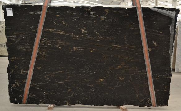 TITANIUM Supply (Brazil) polished slabs BQ01198 , Bnd 24328 natural granite