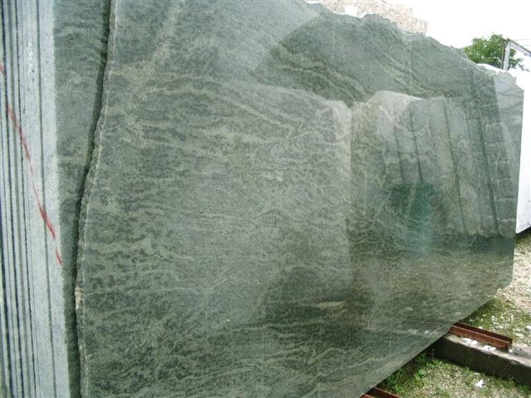 TROPICAL GREEN MARITAKA polished slabs EDM25123 natural granite