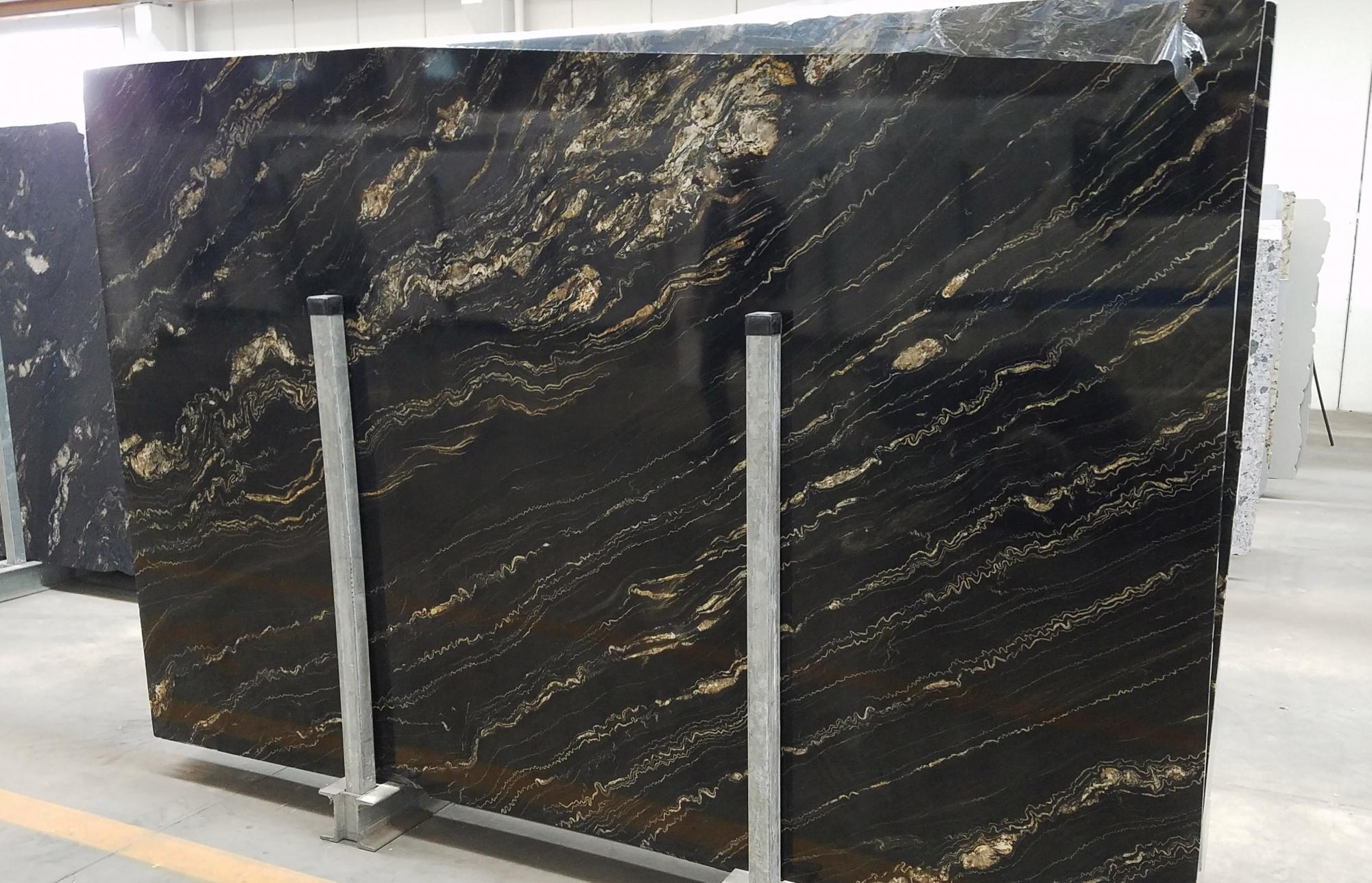 TROPICAL STORM Supply Veneto (Italy) polished slabs 1537G , SL3CM natural quartzite