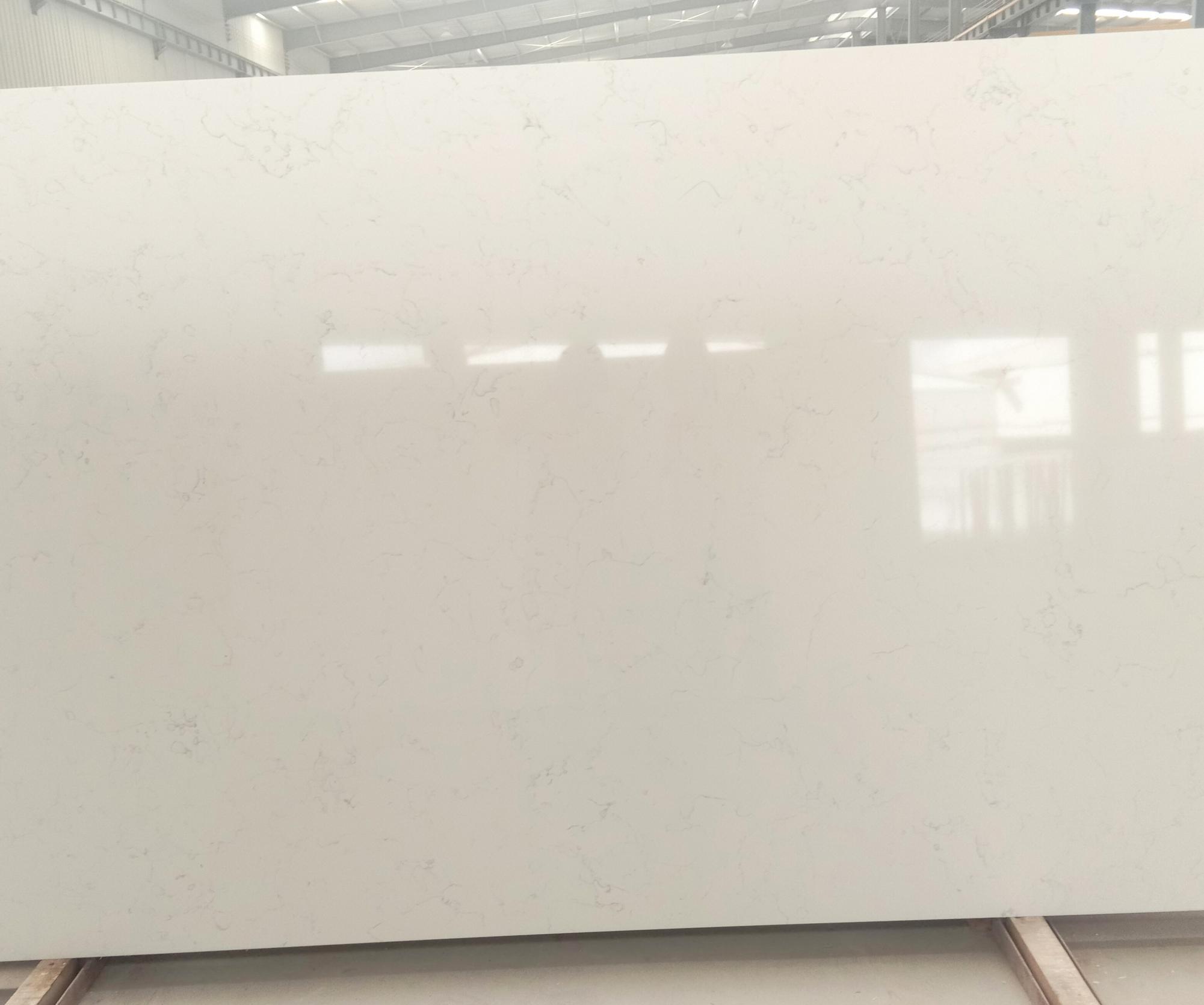 Venetian White Supply Hai Phong (Vietnam) polished slabs 6302 , SL3CM artificial aglo quartz