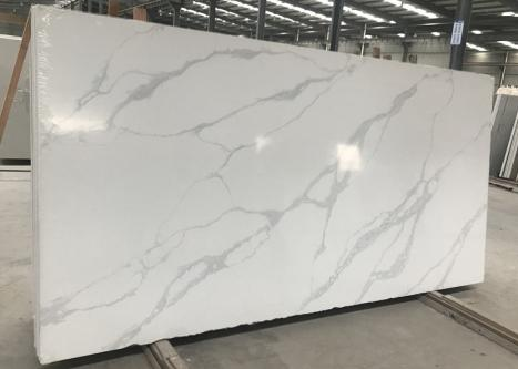 POMPEIslab polished Vietnamese quartz SL2CM,  126 x 63 x 0.8 ˮ artificial aglo stone (available in Hai Phong, Vietnam)