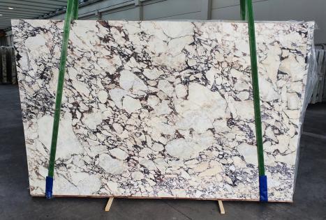 CALACATTA VIOLAslab polished Italian marble Slab #08-3,  117.7 x 74.8 x 1.2 ˮ natural stone (sold in Veneto, Italy)