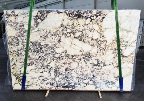 CALACATTA VIOLAslab polished Italian marble Slab #42,  116.1 x 74.8 x 0.8 ˮ natural stone (sold in Veneto, Italy)
