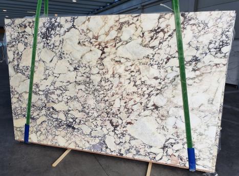 CALACATTA VIOLAslab polished Italian marble Slab #10,  116.9 x 74 x 0.8 ˮ natural stone (available in Veneto, Italy)