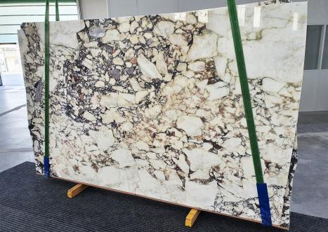 CALACATTA VIOLAslab polished Italian marble Bnd02-Slb116,  115.4 x 70.9 x 0.8 ˮ natural stone (sold in Veneto, Italy)