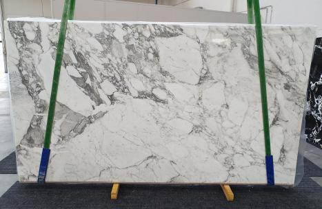 CALACATTA VAGLIslab polished Italian marble Slab #24,  124 x 69.7 x 0.8 ˮ natural stone (available in Veneto, Italy)