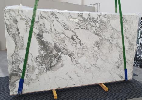 CALACATTA VAGLIslab polished Italian marble Slab #08,  124 x 69.7 x 0.8 ˮ natural stone (available in Veneto, Italy)