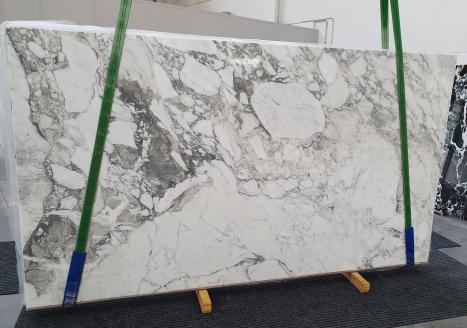 CALACATTA VAGLIslab polished Italian marble Slab #16,  124 x 69.7 x 0.8 ˮ natural stone (available in Veneto, Italy)