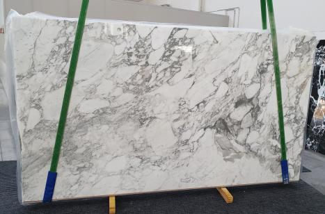 CALACATTA VAGLIslab polished Italian marble Slab #01,  124 x 69.7 x 0.8 ˮ natural stone (available in Veneto, Italy)