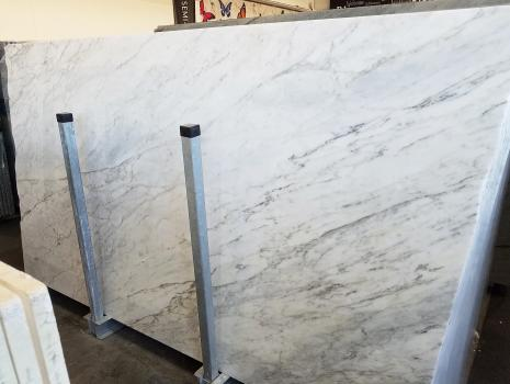 CALACATTA ARNI 51 slabs polished Italian marble Slab #41,  118.1 x 67.7 x 0.8 ˮ natural stone (sold in Veneto, Italy)