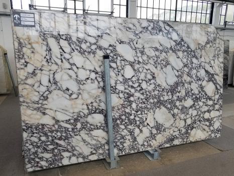 CALACATTA VIOLA 54 slabs polished Italian marble SL2CM,  115 x 69.7 x 0.8 ˮ natural stone (available in Veneto, Italy)