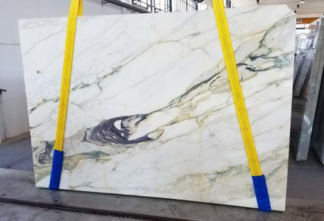 CALACATTA FIORITOslab sawn Italian marble Slab #08,  106.3 x 72.8 x 0.8 ˮ natural stone (available in Veneto, Italy)