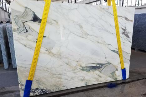 CALACATTA FIORITOslab sawn Italian marble Slab #18,  106.3 x 72.8 x 0.8 ˮ natural stone (available in Veneto, Italy)