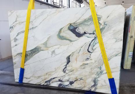 CALACATTA FIORITOslab sawn Italian marble Slab #25,  106.3 x 72.8 x 0.8 ˮ natural stone (available in Veneto, Italy)