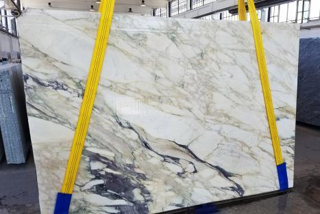 CALACATTA FIORITOslab sawn Italian marble Slab #34,  106.3 x 72.8 x 0.8 ˮ natural stone (available in Veneto, Italy)
