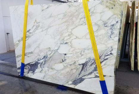 CALACATTA FIORITOslab sawn Italian marble Slab #42,  106.3 x 72.8 x 0.8 ˮ natural stone (available in Veneto, Italy)