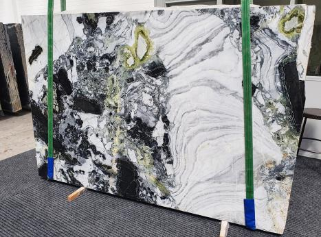 AMAZONIAslab polished Chinese marble Slab #61,  102.4 x 70.9 x 0.8 ˮ natural stone (sold in Veneto, Italy)