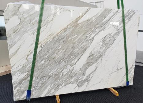 CALACATTAslab polished Italian marble B - slab #11,  118.1 x 78.7 x 1.2 ˮ natural stone (available in Veneto, Italy)