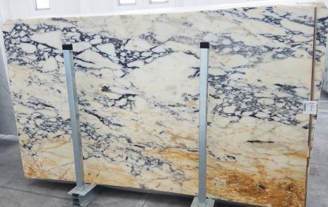 CALACATTA MONETslab polished Italian marble Slab #01,  112.2 x 63 x 0.8 ˮ natural stone (available in Veneto, Italy)