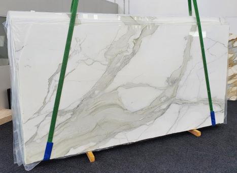 CALACATTA ORO EXTRAslab polished Italian marble Slab #01,  137.8 x 78.7 x 0.8 ˮ natural stone (sold in Veneto, Italy)