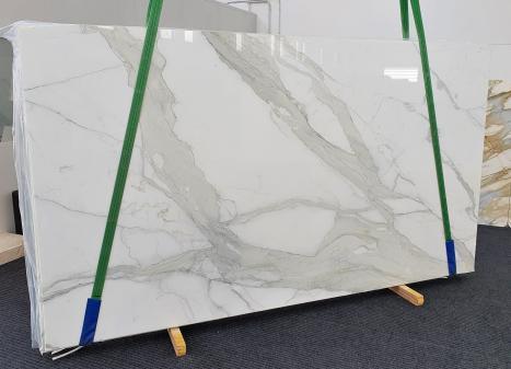 CALACATTA ORO EXTRAslab polished Italian marble Slab #18,  137.8 x 78.7 x 0.8 ˮ natural stone (sold in Veneto, Italy)