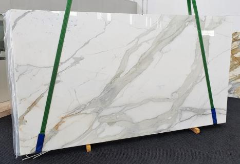 CALACATTA ORO EXTRAslab polished Italian marble Slab #27,  137.8 x 78.7 x 0.8 ˮ natural stone (sold in Veneto, Italy)