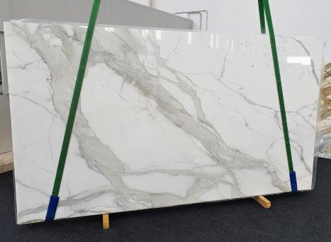 CALACATTA ORO EXTRAslab polished Italian marble Slab #36,  137.8 x 78.7 x 0.8 ˮ natural stone (sold in Veneto, Italy)