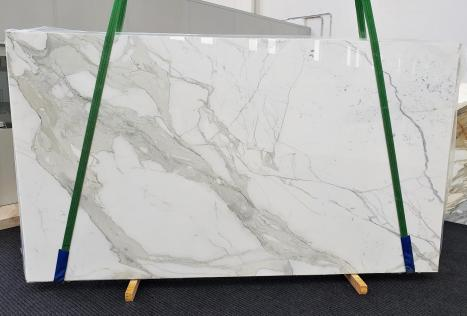 CALACATTA ORO EXTRAslab polished Italian marble Slab #54,  137.8 x 78.7 x 0.8 ˮ natural stone (sold in Veneto, Italy)
