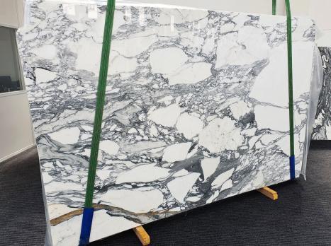 ARABESCATO CORCHIAslab polished Italian marble Slab #09,  118.1 x 74.8 x 0.8 ˮ natural stone (sold in Veneto, Italy)