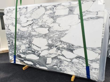 ARABESCATO CORCHIAslab polished Italian marble Slab #17,  118.1 x 74.8 x 0.8 ˮ natural stone (available in Veneto, Italy)