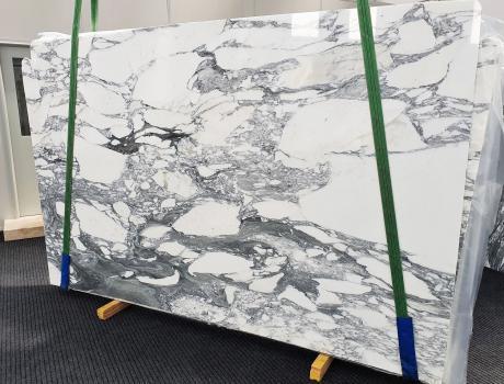 ARABESCATO CORCHIAslab polished Italian marble Slab #25,  118.1 x 74.8 x 0.8 ˮ natural stone (sold in Veneto, Italy)