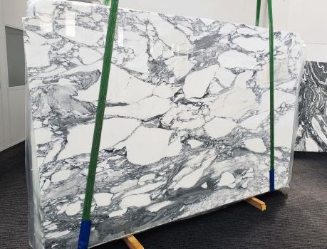 ARABESCATO CORCHIAslab polished Italian marble Slab #35,  118.1 x 74.8 x 0.8 ˮ natural stone (available in Veneto, Italy)