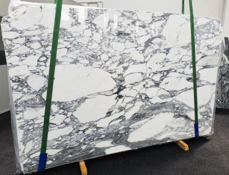 ARABESCATO CORCHIAslab polished Italian marble Slab #45,  118.1 x 74.8 x 0.8 ˮ natural stone (available in Veneto, Italy)