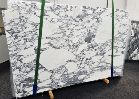 ARABESCATO CORCHIAslab polished Italian marble Slab #55,  118.1 x 74.8 x 0.8 ˮ natural stone (sold in Veneto, Italy)