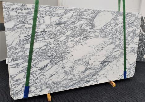 ARABESCATO CORCHIAslab honed Italian marble Slab #18,  118.1 x 66.9 x 0.8 ˮ natural stone (sold in Veneto, Italy)