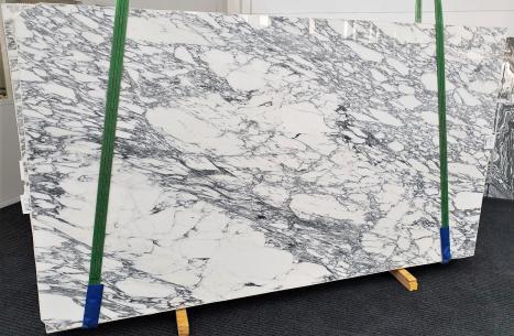 ARABESCATO CORCHIAslab polished Italian marble Slab #35,  118.1 x 66.9 x 0.8 ˮ natural stone (available in Veneto, Italy)
